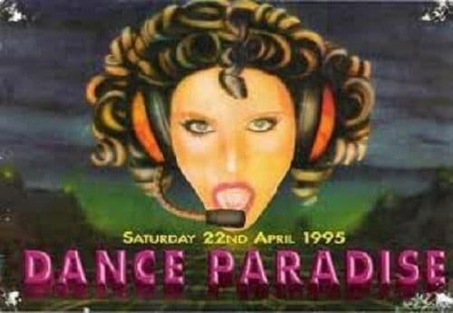 Dance Paradise Live Rave Events DJ-Sets DVD Compilation (1993 - 1995)